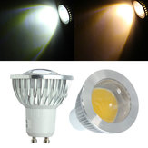 GU10 LED Bulbs 3W COB AC 85-265V Warm White/White Spot Light