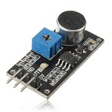 Sound المستشعر Detection Module LM393 Chip Electret Microphone