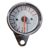 Uniwersalny Mechanica 13000RPM Tachometr Gauge Motorcycle