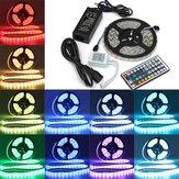 5M SMD 5050 RGB vízálló 300 LED szalaglámpa 44 kulcsos vezérlő 12V