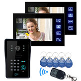 ENNIO SY806MJIDS12 LCD Video Door Phone With IR Camera & Code Keypad