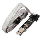 USBASP USBISP 3.3 5V AVR Downloader Programmer With ATMEGA8 ATMEGA128