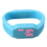 8G Waterproof LED Sport Watch Flash Drive Wristband USB Memory U Disk