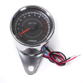 Motor Speedometer Tachometer Odometer Rev Counter 0-13000 RPM