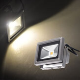 10W Warm White LED Flood Light lamp Garden Black DC 12V