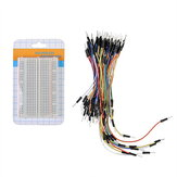 Prototype Board 400 Hole Breadboard + 65pcs Breadboard Jump Cable