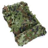4x1.5m red de camuflaje camo del arbolado para acampar fotografía militar