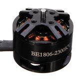 Flashhobby BE1806 1806 2300KV Brushless Motor Black Edition para multicópteros