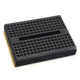 5Pcs Black 170 Holes Mini Solderless Prototype Breadboard For