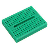 5Pcs Green 170 Holes Mini Solderless Prototype Breadboard For