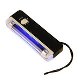 DANIU 2 in 1 UV Black Light Torch Portable Fake Money Cash Detector