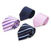 Mens Business Arrow Stropdas Stropdas Clips Manchetknopen Kerchief Gift Series
