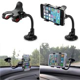 Universal 360 réglable Wind Shield Car Holder pour iPhone 5 5S