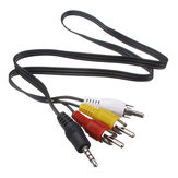 3.5mm Spina Jack a 3 RCA Cavo Adattatore Cavo Audio Video