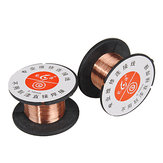 2Pcs 0.1MM Weld Copper Soldering Solder PPA Enamelled Reel Wire