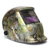 Einstellbare Auto Filter Solar Schweißhelm Maske Wald Camo