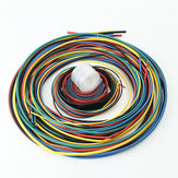 11 Rozmiar 6Color 55M / Set Polyolefin 2: 1 Halogen-Free Heat Shrink Tubing