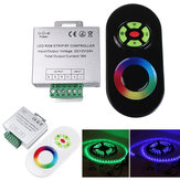 18A Touch Dimmable Remote Wireless RF Controller For Led RGB Strip