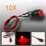 10pcs 10mm universale spia cruscotto spia sul quadro LED