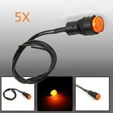 5X10 millimetri universale spia cruscotto spia sul quadro LED