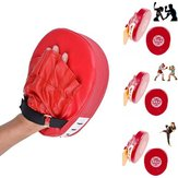 Guantone da boxe Training Focus Mitt Target Focus Punch Pad per MMA Karate Muay Thai Kick