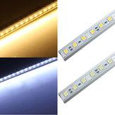 50CM 36 LED 5050 SMD Hard Strip Light Shell End Fixture 12V