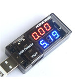 USB Detector Huidige Voltage 3V-9V Tester Dubbele USB Row Shows