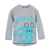 2015 New Little Maven Piękny numer Baby Children Boy Cotton Top z długim rękawem