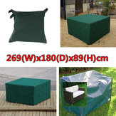 269x180x89cm Waterproof Garden Outdoor Furniture Dust Cover Table Shelter