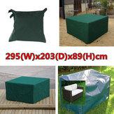 295x203x89cm jardin imperméable poussière de mobilier d'extérieur table de couverture abri