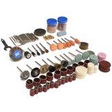 136pçs Acessórios de Ferramentas Rotativas Conjunto de Broca Kits de Polimento para Dremel