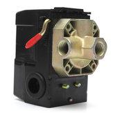 Ar compressor pressão interruptor de controle da válvula 4 portas 90-120 psi 26 amp 240vac
