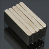 5pcs N52 Strong Rectangular Neodymium Magnets 25x10x3mm Block NdFeB Rare Earth Magnets