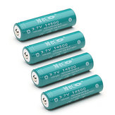 4pcs meco rechargeable 14500 batterie Li -ion 3.7v 1200mah