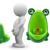 Bella rana bambini bambini vasino rimovibile a servizi igienici bambini orinatoio precoce apprendimento boys pipì bagno trainer