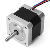 JKM NEMA17 0.9 Degree 42 Two Phase Hybrid Stepper Motor 40mm 1.68A For CNC Router