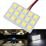 5050 15SMD Car hvid LED Interior Dome Door Reading Panel Light