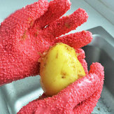 Honana 1 Pair Peeling Potato Gloves Peel Vegetable Fish Scale Gloves Potato Peeler Kitchen Tools