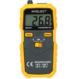 HYELEC PEAKMETER MS6501 LCD affichage thermomètre numérique Termostato thermomètre de type K thermocouple