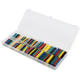 180pcs 2:1 Polyolefin Halogen-Free Heat Shrink Tubing Sleeving 5Color 12Size