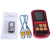 BENETECH GM1312デジタル温度計K / J / T / E / R / S / N熱電対用デュアルチャンネルLCDディスプレイ温度計テスター