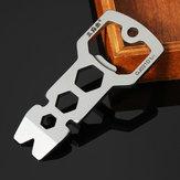 Sanrenmu GJ021D Multi Tools Kit Nail Puller Wrench Opener Keychain