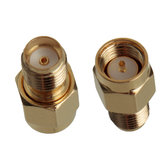 1Pc Adapter SMA Male Plug naar SMA Female Jack RF Connector Straight Gold Plating