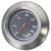Nhiệt kế thép không gỉ Thịt nướng BBQ Smoker Grill Nhiệt độ đo 60-430