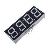 1 stuks 7-segment 4-cijferige superrode LED-display gemeenschappelijke anodetijd