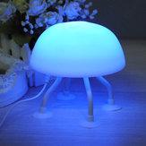 Diy LED lâmpada medusa lâmpada de mesa pequena luz noturna