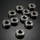 10 Cái 6 mmx12mmx4mm Thép được bảo vệ Vòng bi rãnh sâu MR126zz