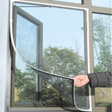 Honana WX-318 White Insect Mosquito Door Window Mesh Screen Sticky Nylon Tape Net Window Film