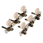 1 Pair  Acoustic Classic Guitar Tuning Pegs Keys Machine Heads Tuners