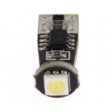 White T10 5050 1 SMD LED Car Canbus Built-in Resistor No Error Free Light Bulbs